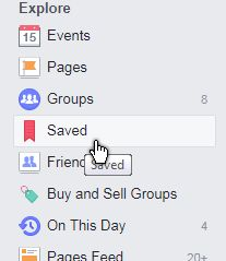 facebook-saved items