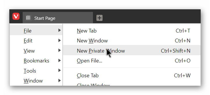 vivaldi-file-new-private-window